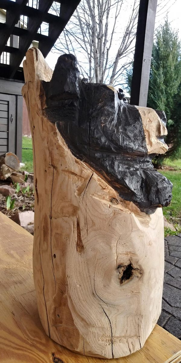 chain saw carved bear