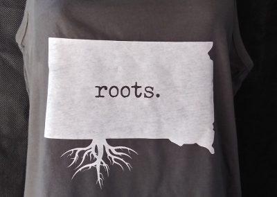 South Dakota 'roots' Tank top - gray