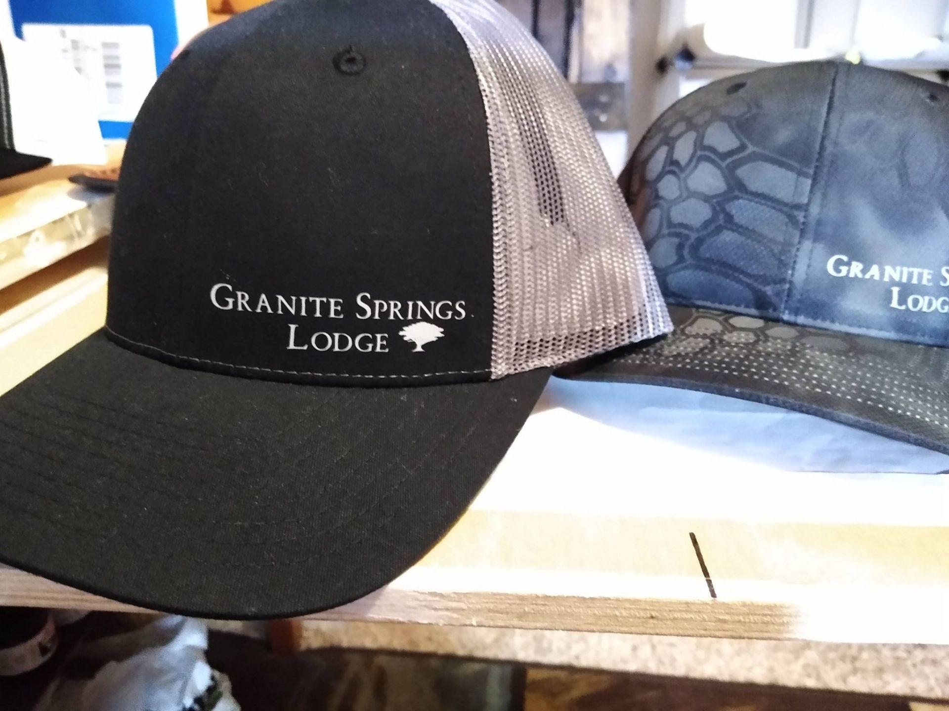Granite Springs Lodge caps