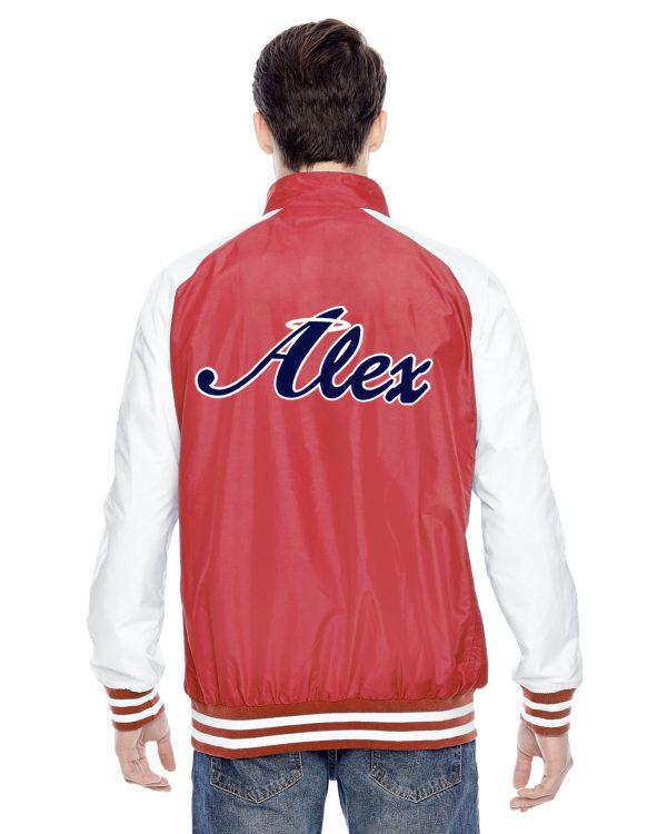 Alex Angels Jacket - red