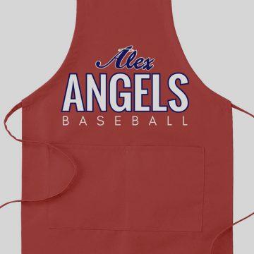 Red Alex Angels Apron